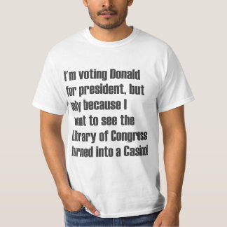 Estoy votando a Donald Playera