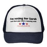 Estoy votando por Sarah Gorros