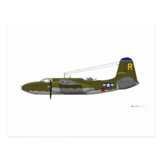 Estrago de Douglas A-20G Postales
