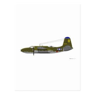 Estrago de Douglas A-20G Tarjetas Postales