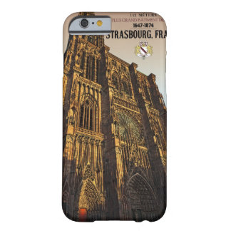 Estrasburgo - catedral Notre Dame Funda De iPhone 6 Barely There