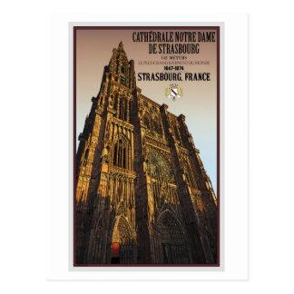 Estrasburgo - catedral Notre Dame Postales