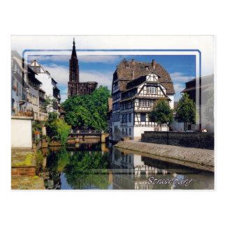 Estrasburgo Francia #1 - postal