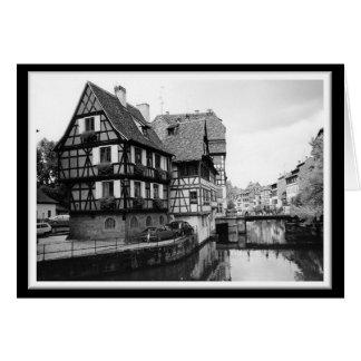 Estrasburgo, Francia 2 Tarjeta De Felicitación