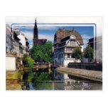 Estrasburgo Francia - postal
