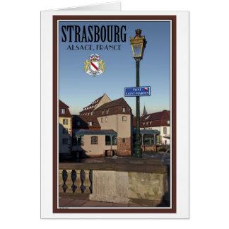 Estrasburgo - Pont San Martín Tarjeta De Felicitación