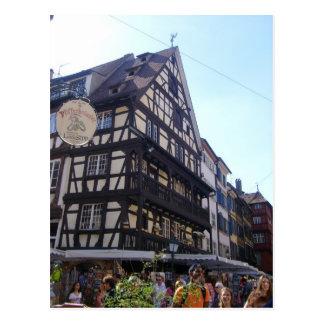 Estrasburgo - postal