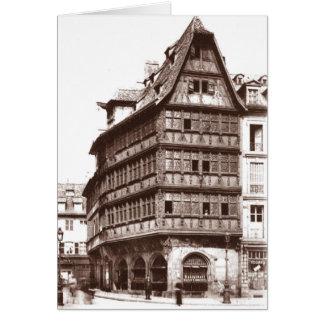 Estrasburgo Tarjeta De Felicitación