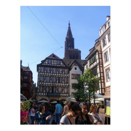 Estrasburgo - tarjetas postales
