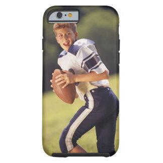 Estratega de la High School secundaria con fútbol Funda Resistente iPhone 6