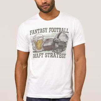 Estrategia del proyecto del fútbol de la fantasía playera