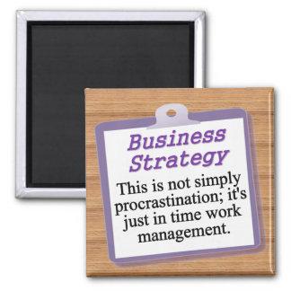 Estrategia empresarial imán cuadrado