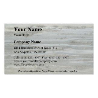 Estratos azules completamente sólidos plantilla de tarjeta de negocio
