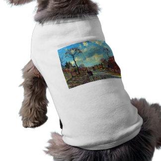 Estrecho de Louveciennes de Camille Pissarro Ropa Para Mascota