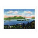 Estrechos, cientos islas, Mountain View de la Tarjetas Postales