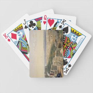Estrechos de Yenikale, placa 'de Seat de la guerra Baraja Cartas De Poker
