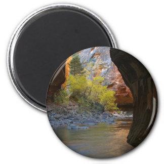 Estrechos en el parque nacional de Zion Imán De Frigorífico