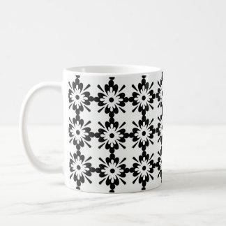 estrela del tipo del preta de imagem de Flor Taza Básica Blanca