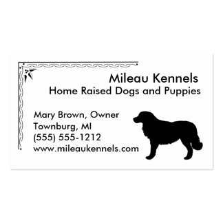 Estrela Mountain Dog Double-Sided Standard Business Cards (Pack Of 100)