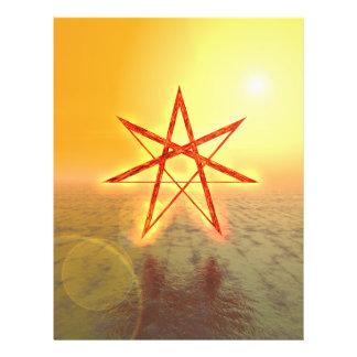 """Estrella 01 de Elven Folleto 8.5"""" X 11"""""""