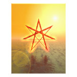 Estrella 01 de Elven Membrete A Diseño