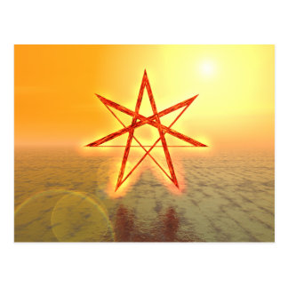 Estrella 01 de Elven Postales