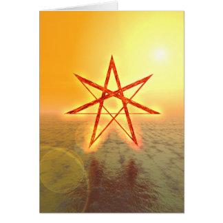 Estrella 01 de Elven Tarjeta De Felicitación