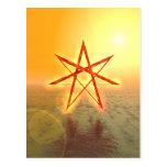 Estrella 01 de Elven Tarjeta Postal
