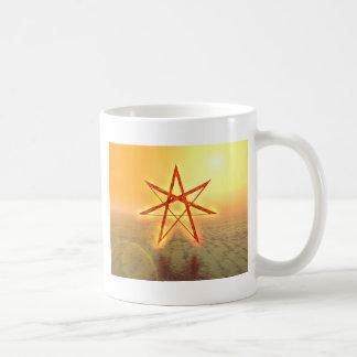 Estrella 01 de Elven Taza De Café