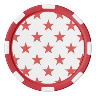 Estrella 1 Pimienta Juego De Fichas De Póquer
