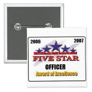 Estrella 2007 cinco pins