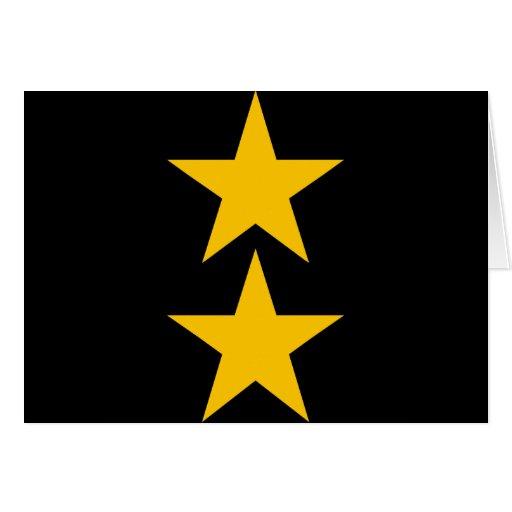 estrella 2 tarjeta de felicitación