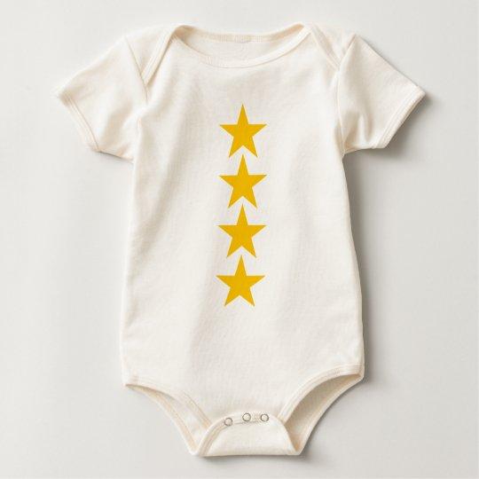 estrella 4 body para bebé