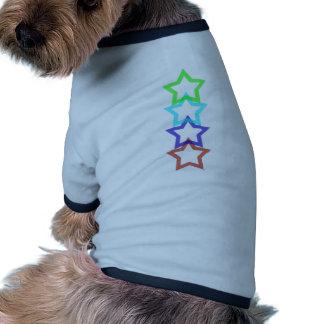 estrella 4 camiseta de perro
