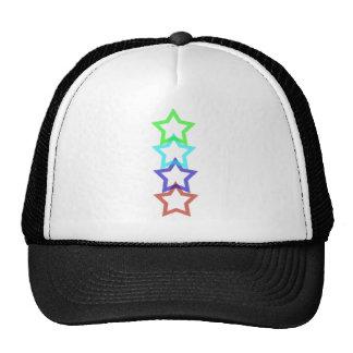 estrella 4 gorras