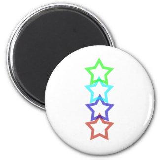 estrella 4 imanes de nevera