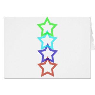 estrella 4 tarjeta