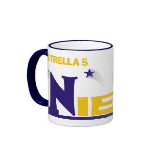 Estrella 5 Nieto© - Taza Ringer Coffee Mug