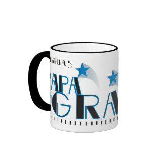 Estrella 5 Papa Grande© Ringer Mug