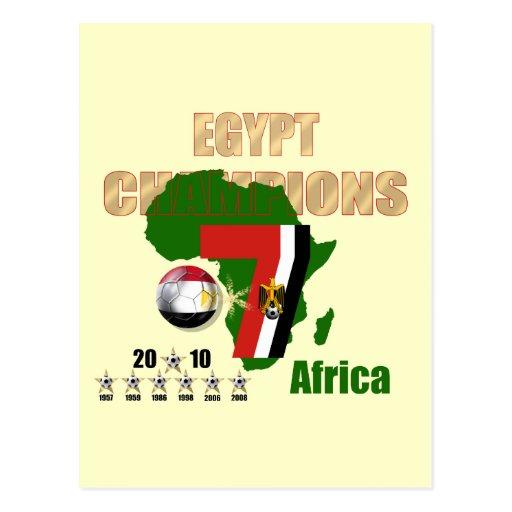 estrella 7 7 regalos de los ganadores de Egipto de Postal