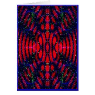 Estrella abstracta del día de fiesta tarjetas