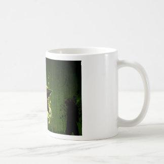 Estrella abstracta taza