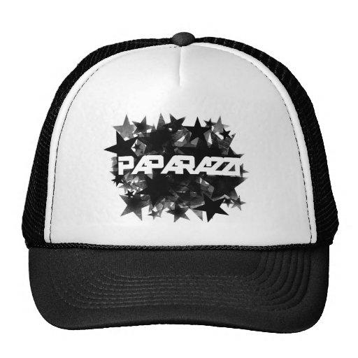 Estrella agrupada paparazzis gorra