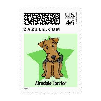 Estrella Airedale Terrier de Kawaii