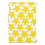 Estrella amarilla iPad mini protectores