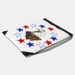 Estrella americana calva de Eagle Mochilas