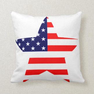 Estrella americana cojin