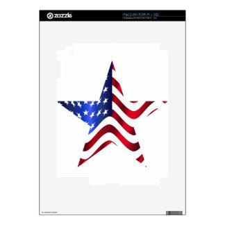 Estrella americana skins para iPad 2