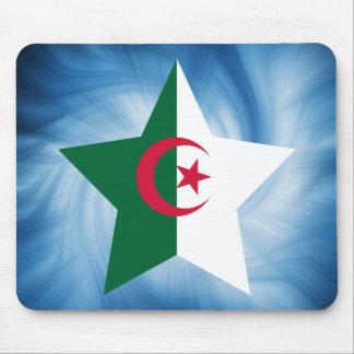 Estrella amistosa de la bandera de Argelia del Alfombrilla De Ratones