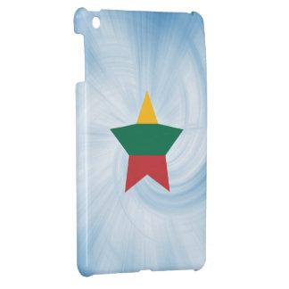 Estrella amistosa de la bandera de Lituania del